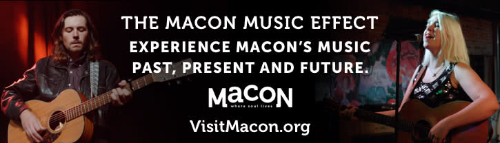Macon Music Effect Banner