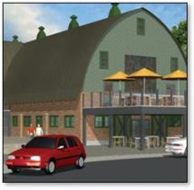 Concept rendering The Black Sheep at Farm Brew Live Innovation Park