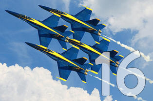 #16 Blue Angels