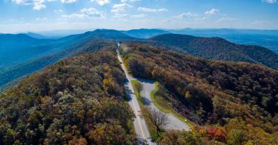 Blue Ridge Parkway Mountains