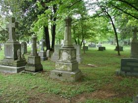 Cave Johnson Gravesite
