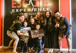 Escape Experience Group Photo
