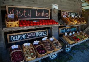 Veggie Wagon produce stand