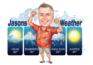 Jasons Weather Logo