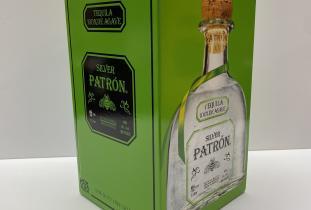 Liquor, Tequila, Patrón, Silver