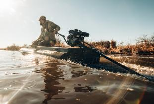 Waterfowling remote areas