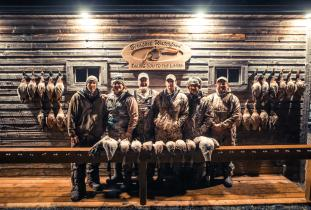 Late season Manitoba waterfowl hunting with Birdtail Waterfowl
