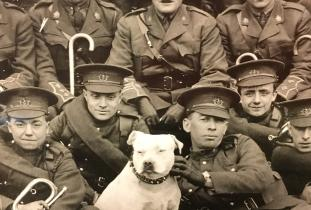 Mascot of the 90th Regiment Winnipeg Rifles
