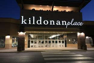Kildonan Place - Front Entrance at Night