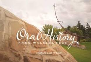 Oral History Tour at the Forks