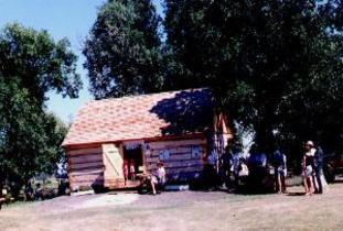 Village of McCreary - Burrows Trail - Satterthwaite Log Cabin