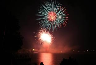 Canada Day Fireworks at Lac du Bonnet