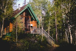 Cozy log cabins for your next visit to the Whiteshell