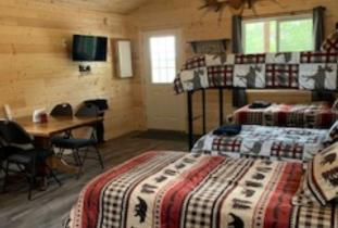 Cabin 1 Open concept