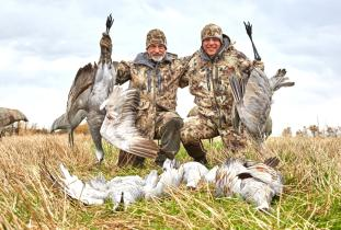 Manitoba Sandhill Crane hunting