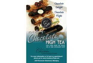 High Tea Chocolate Poster