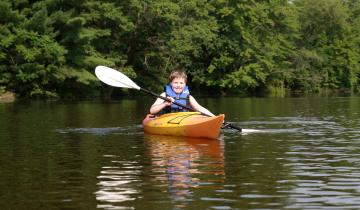 Hit the water and paddle the backwaters and sloughs of the Wisconsin River in the Stevens Point Area
