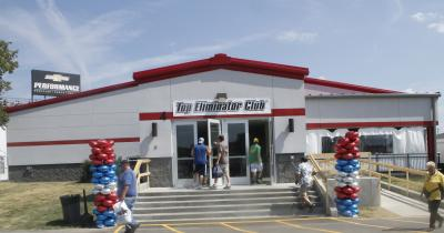 Top Eliminator Club Pavilion at Lucas Oil Raceway