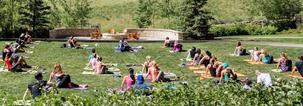 Enjoy Yoga in the Mountains in Park City, Utah