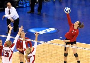 Girls NCAA Volleyball
