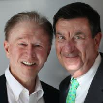 Roger Ogden and Ron Forman