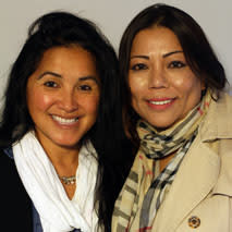 Cyndi Nguyen and Sandy Ha Nguyen