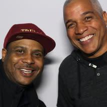 Derrick Tabb and Glenn Hall Jr.