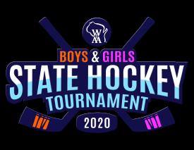 WIAA Boys & Girls Hockey 2020 logo