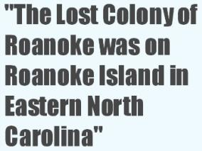 Lost Colony of Roanoke