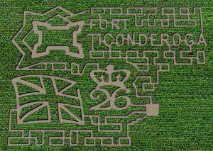 Fort Ticonderoga Corn Maze 2020