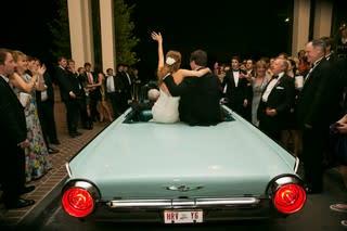 Bride Groom Blue 63 Thunderbird