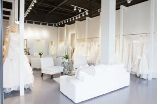 Weddings Dresses on Racks