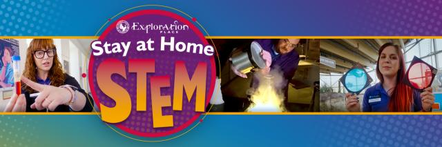 Exploration Place stay at home STEM