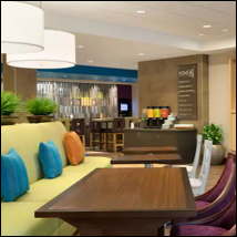 Home2 Suites Potomac Mills Woodbridge lobby interior