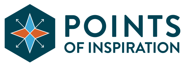 Points of Inspiration Logo - Horizontal