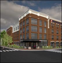 Hilton Garden Inn Downtown Haymarket Concept Rendering