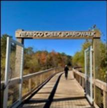 Neabsco Regional Park Sign and Boardwalk