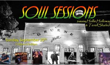 Soul Sessions featuring Hollie Holloway & Terell Shahid