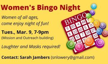 Women's Bingo Night