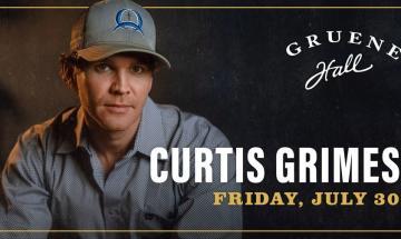 Curtis Grimes (Album Release) at Gruene Hall