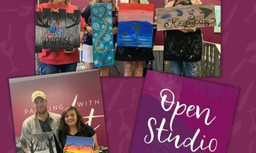 Open Studio - Pick Your Painting (Ages 6+)