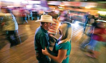 Swing Dance Lessons at Gruene Hall