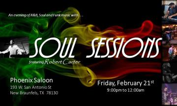Soul Sessions featuring Robert Carter