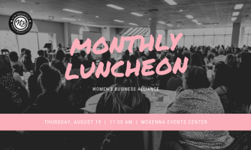 Women's Business Alliance Monthly Luncheon