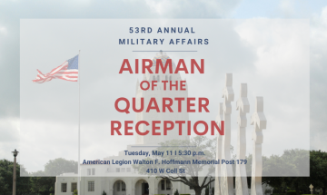 Military Affairs Reception