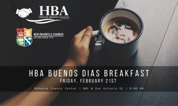 HBA Buenos Dias Breakfast