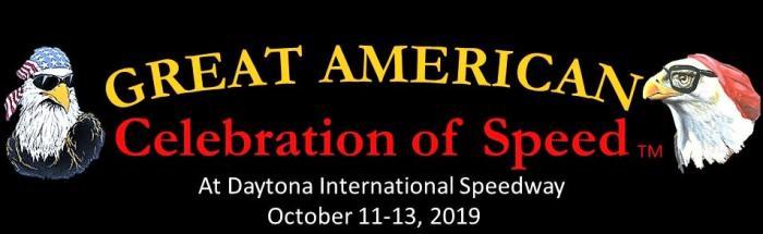 Celebration of Speed  logo for an event happening at Daytona International Speedway
