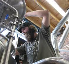 Joe Mohrfeld Head Brewer & Co-Owner. Photo credit Pinthouse Pizza