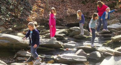 Kids at Nature Center