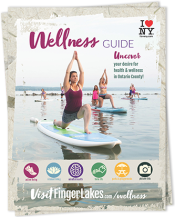 Cover of Visit Finger Lakes wellness guide
